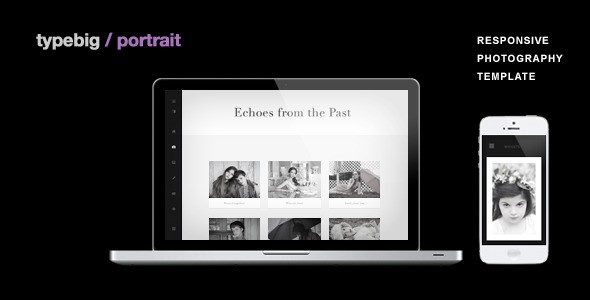 Typebig - Portrait WordPress Photo Theme