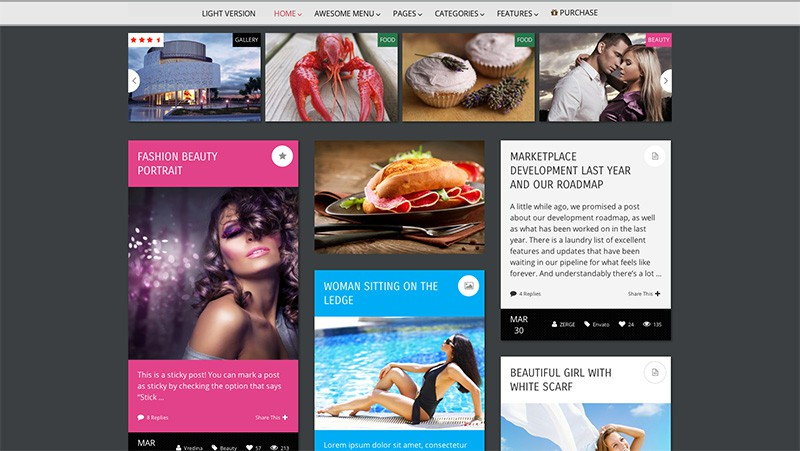 Pravda - WordPress Magazine Theme