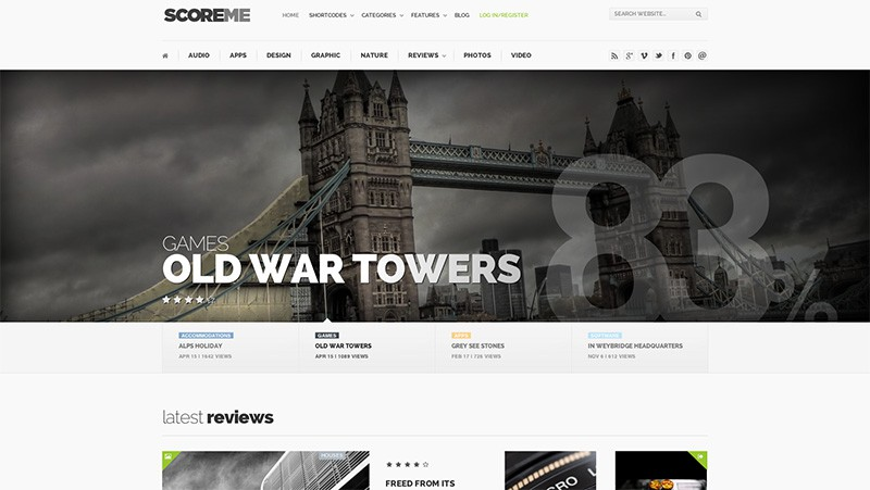 Scoreme - WordPress Magazine Theme