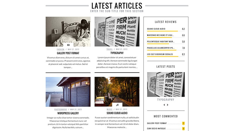 SimpleMag - WordPress Magazine Theme