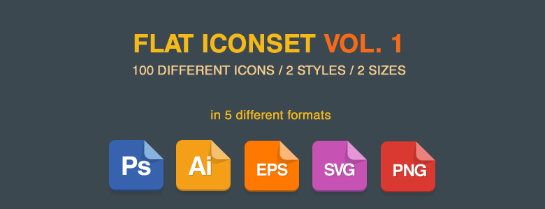 Flat Vector Iconset