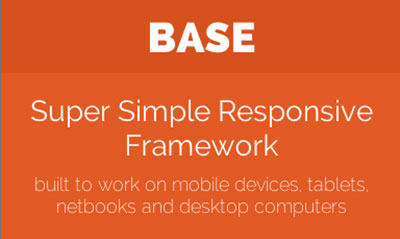 Super Simple Responsive Framework Base