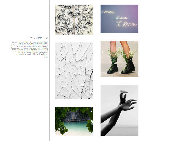 Chinese - Tumblr Theme