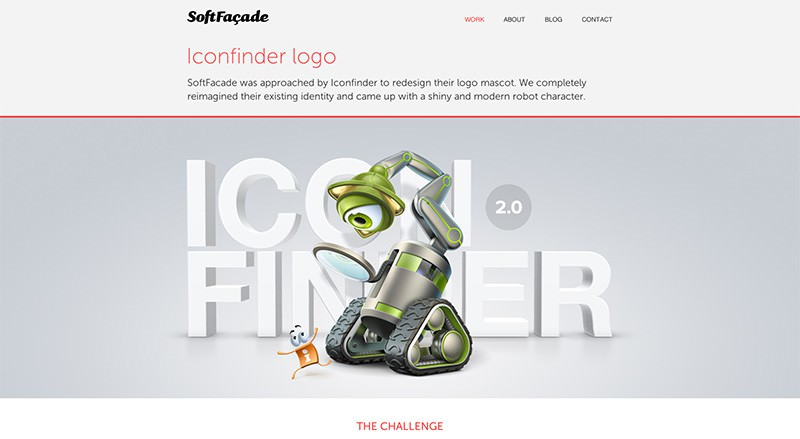 One-Page Website mit CSS3-Effekten