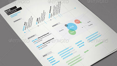 Resume Template Titelbild