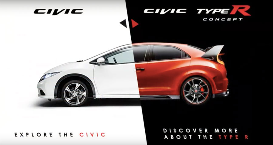 Honda Civic Website