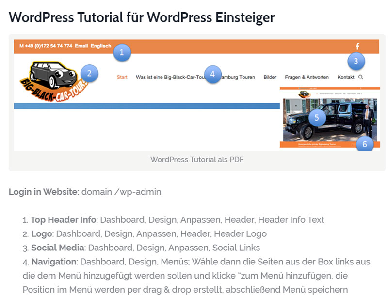 WordPress Tutorial für WordPress Einsteiger