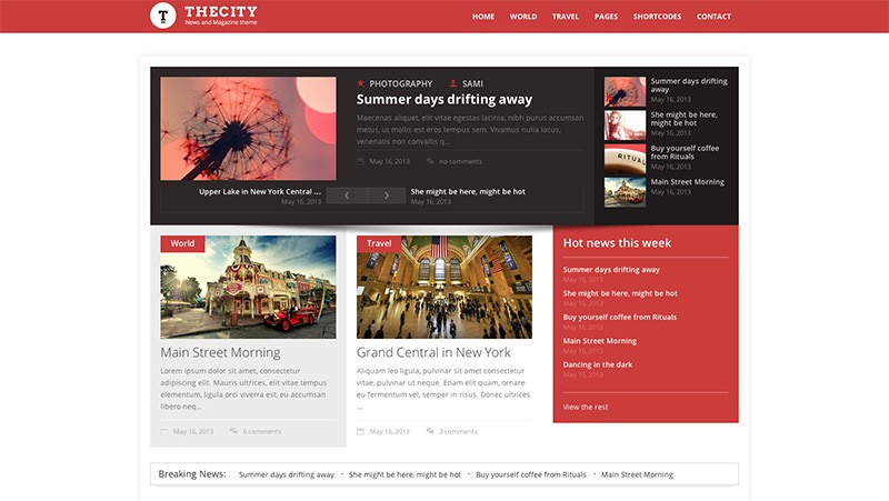 City News WordPress Magazine Theme