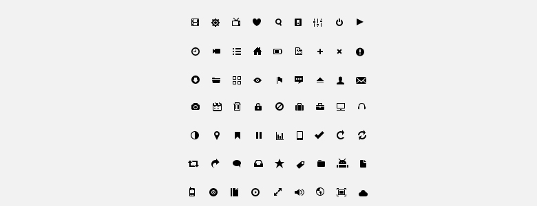 Small Iconset