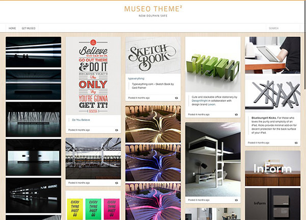 Museo - Stylish Tumblr Theme