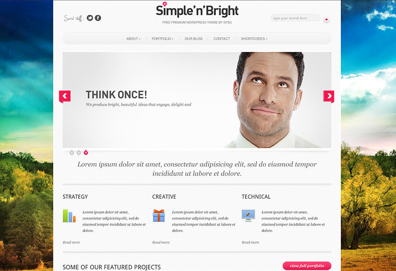 Free Business WordPress Theme