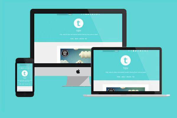 Tidy - Stylish Responsive Tumblr Template