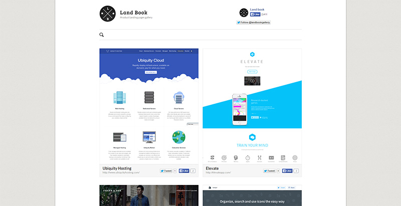 Landbook - Landing Pages Inspiration